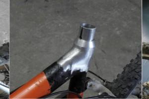 שיפוץ שלדת אופניים