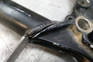תיקון שלדת אופניים