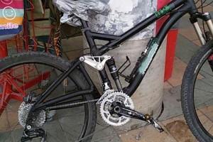 תיקון שלדת אופניים – משלוש אחורי, אחרי